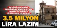 Hüdai Oral evinin kurtulması için 3,5 milyon lira gerek