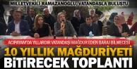 Ramazanoğlu'ndan Acıpayam'daki 10 yıllık mağduriyeti bitirecek girişim
