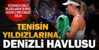 Tenisçilere Denizli havlusu