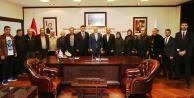 AK Parti Beyağaç Yönetimi'nden Başkan Zolan'a ziyaret