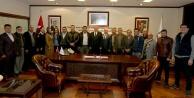 AK Parti Bozkurt'tan Başkan Zolan'a ziyaret