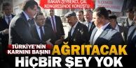 Bakan Zeybekci: Türkiye#039;nin karnını, başını ağrıtacak hiçbir şey yok