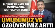 DTO Başkanı Erdoğandan büyüme değerlendirmesi