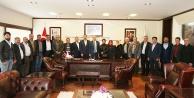 Güney İlçe Teşkilatı'ndan Başkan Zolan'a ziyaret