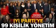 İYİ Parti 99 kişilik yönetimini belirledi
