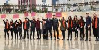 Öğrenciler kadına şiddete karşı birleşti