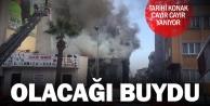 Bir türlü korunamayan Hüdai Oral evi cayır cayır yanıyor