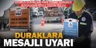 Büyükşehir#039;den hatalı parklara mesajlı uyarı