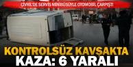 Çivril'de meydana gelen trafik kazasında 6 kişi yaralandı