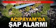Denizli'deki 15 mahallede hayvanlar karantinaya alındı
