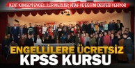 Engelliler Meclisi#039;nden ücretsiz E-KPSS kursu