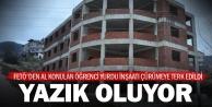 FETÖ'den el konulan öğrenci yurdu inşaatı çürüyor
