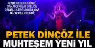 Petek Dinçözden Polat Termal Otelde muhteşem yeni yıl konseri
