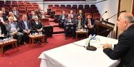 Vali Karahandan yatırım toplantısı
