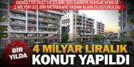 Bir yılda 23 bin 385 daireye ruhsat verildi