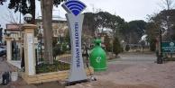 Buldan Belediyesi'nden parklarda ücretsiz internet hizmeti
