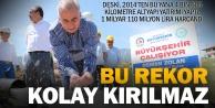 Büyükşehir DESKİ#039;den alt yapıda rekor yatırım
