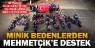 Denizli'de öğrencilerden Afrin'deki Mehmetçik'e destek