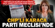 Gülizar Biçer Karaca ikinci kez CHP Parti Meclisinde