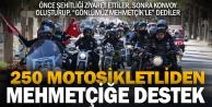Motosiklet tutkunlarından Afrin#039;deki Mehmetçikler#039;e destek