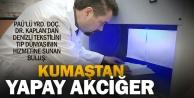 Pamukkale Üniversitesinden kumaştan yapay akciğer modülü çalışmaları