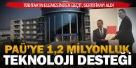 PAÜ Teknoloji Transfer Ofisine 1,2 milyon hibe