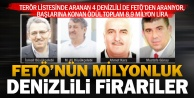 Terör listesindeki 4 Denizlilinin başına 8,9 milyon lira ödül kondu