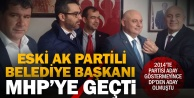 Ak Partiden DPye geçen eski başkan şimdi MHPli oldu