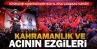 Büyükşehir#039;den Çanakkale konseri