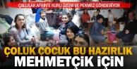 Çallılar, Afrin'deki Mehmetçiğe pekmez ve kuru üzüm gönderecek