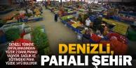 Denizli, Aydın ve Muğla Türkiyeden yüzde 2 pahalı yaşıyor