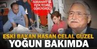 Eski Bakan Hasan Celal Güzel, Denizli#039;den Ankaraya sevk edildi