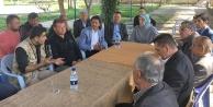 Ramazanoğlu, Akköy ve civarında seçmenle buluştu