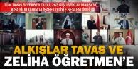 Tavas, İstiklal Marşı'nı yüreğiyle okudu