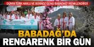 Türk Havlu ve Bornoz Günü#039;nde bornozlu yürüyüş