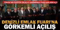Türkiyenin en büyük Emlak ve Gayrimenkul Fuarı Denizlide kapılarını açtı