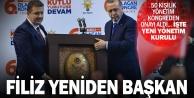 Ak Partide Necip Filiz yeniden başkan