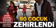 Anaokulunda gıda zehirlenmesi; 80 çocuk etkilendi