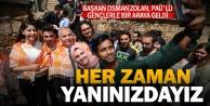 Başkan Osman Zolan, PAÜ#039;lü gençlerle bir araya geldi