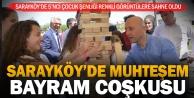 Başkan Özbaş, miniklerin coşkusuna ortak oldu