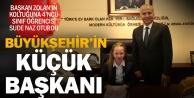Başkan Zolan, koltuğunu 4. sınıf öğrencisine devretti