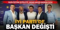 İlk seçim istifası İYİ Partiden