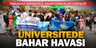 Pamukkale Üniversitesinde bahar etkinlikleri başladı