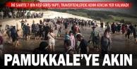 Pamukkale#039;ye vatandaşlar akın etti