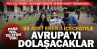 PAÜlü üç öğrenci, parasız ve telefonsuz Avrupa turunda