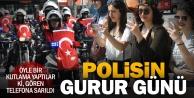 Polisin 173ncü gurur kutlaması