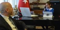 Sarayköy'ün küçük başkanı Beyza