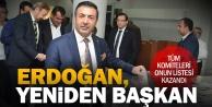 Tüm komiteleri kazanan Erdoğan, DTOda tekrar başkan
