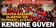 Büyükşehir#039;den sınav stresi ve motivasyon semineri