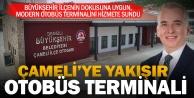 Çameli, otobüs terminaline kavuşuyor